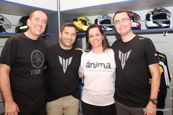 Eles Estão Com Tudo Empresários Inauguram Concessionária Yamaha Em