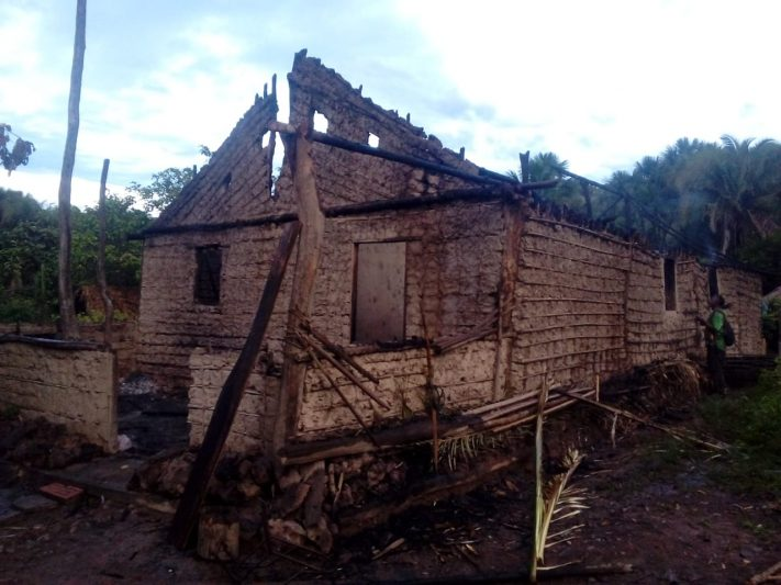 Maranhão: família perde casa em incêndio por botijão de gás